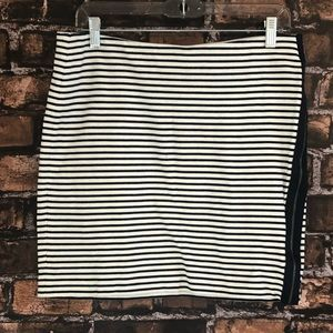 Madewell Striped Skirt Large